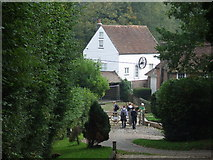 TQ4532 : Walkers at Mill Cottage, Newbridge by Malc McDonald