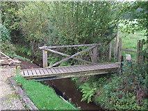 TQ4532 : Bridge and stile, Newbridge, Ashdown Forest by Malc McDonald