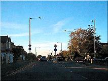 SD8632 : Mini-roundabout, Brunshaw Road by David Dixon