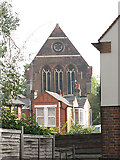 TQ4077 : West end of St George's church by Stephen Craven