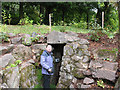 SS9700 : Killerton: entrance to the ice-house by Stephen Craven