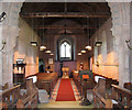 TF6923 : All Saints' church in Roydon - view west by Evelyn Simak