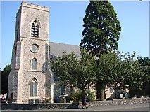 TL6463 : Newmarket All Saints church by Adrian S Pye