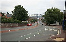 SX9062 : The Paignton to Torquay road at Livermead. by roger geach