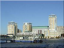 TQ3680 : Hilton Pier, Limehouse Reach by Malc McDonald