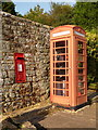 TQ0118 : Fittleworth: postbox and phone box by Chris Downer
