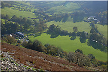 SH9124 : Looking down into Cwm Cynllwyd by Nigel Brown