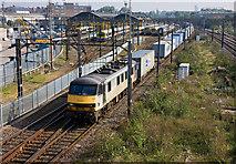 TQ2182 : Freight Through Willesden by Martin Addison