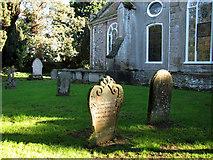 TF6415 : All Saints' church in North Runcton - churchyard by Evelyn Simak