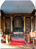 TF6415 : All Saints' church in North Runcton - the chancel by Evelyn Simak