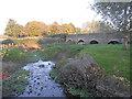 SJ8909 : Stream and bridge by Row17