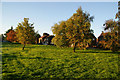 SD7212 : Village Green at Bromley Cross by Bill Boaden