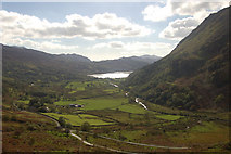 SH6554 : Nant Gwynant from The Viewpoint by John Firth