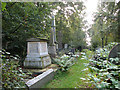 TG2408 : Rosary cemetery, Norwich - Colman Family plot by Evelyn Simak
