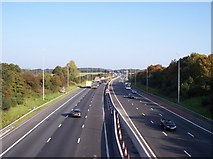 SD5308 : The M6 viewed northbound from Miles Lane by Raymond Knapman