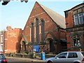 SJ7066 : United Reformed Church, Queen Street, Middlewich by David P Howard