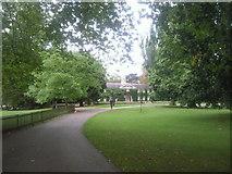 TQ1773 : The Coach House, Marble Hill Park by Marathon