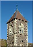 SO8090 : Holy Cross Church Tower at Bobbington, Staffordshire by Roger  Kidd