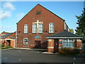 SE3809 : Cudworth Methodist church and charity shop by John Orchard