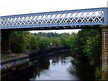 NS5566 : Railway bridge at partick by Thomas Nugent