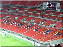 TQ1985 : London : Wembley - Wembley Stadium by Lewis Clarke