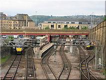 SE1632 : Bradford Interchange Station by Stephen Armstrong