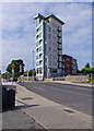O1132 : Apartment block by junction of Tyrconnell Road and Naas Road, Inchicore/Inse Chór by P L Chadwick