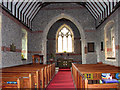 TG1439 : The church of St Helen and All Saints, West Beckham - view east by Evelyn Simak