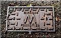 J4569 : Sirocco water-meter cover, Comber by Albert Bridge