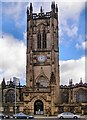 SJ8398 : Manchester Cathedral by David Dixon