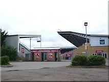 TQ1573 : Harlequins Rugby Ground by Nigel Mykura
