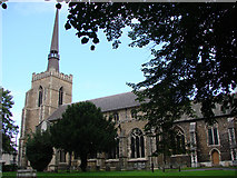 TM0458 : Stowmarket St Peter and St Mary's church by Adrian S Pye