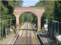 TQ1461 : Warren Lane Railway Bridge by Colin Smith