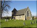 TM1072 : Thornham Parva St Mary's church by Adrian S Pye
