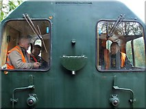 SK3244 : Ecclesbourne Valley Railway, near Windley by Dave Hitchborne