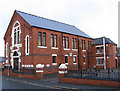 SK5055 : Kirkby-in-Ashfield - Baptist Church by Dave Bevis