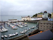 SN1300 : Tenby Harbour by Tom Pennington
