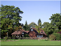 SO9098 : The Chalet Tearoom in West Park, Wolverhampton by Roger  Kidd