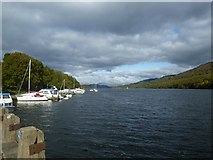 SD3787 : Windermere: view to the north at Lakeside by Keith Salvesen