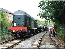SK3443 : Ecclesbourne Valley Railway, Duffield by Dave Hitchborne