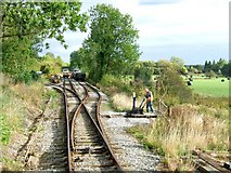 SK3047 : Shottle Railway Sidings, Cowers Lane by Dave Hitchborne