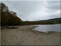 SD3097 : Coniston: the lake shoreline... by Keith Salvesen