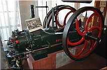 SK5802 : Gas Engine in the Gas Museum by Ashley Dace