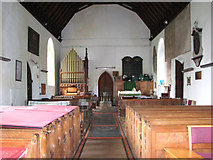 TG4802 : All Saints' church in Belton - view west by Evelyn Simak