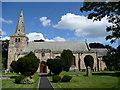 NU2406 : St Laurence's Church, Warkworth by Humphrey Bolton