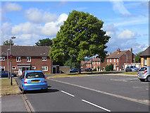 SU7349 : Kersley Crescent, RAF Odiham by Andrew Smith