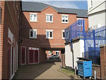 SP3177 : Passage to Warwick Street car park by Robin Stott