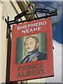 TQ8109 : Prince Albert sign by Oast House Archive
