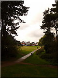 SZ0895 : Redhill: out of the woods towards Redhill Drive by Chris Downer