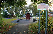 SK4833 : West Park Junior Play Area by David Lally